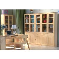 芜湖名邦家具全实木书桌,实木书柜,二门三门书柜,环保书桌