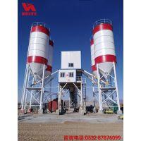 混凝土搅拌站HZS180高性能控制系统优秀的环保性能