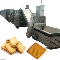 河北赛恒厂家直售全自动饼干生产设备 酥韧性饼干生产线