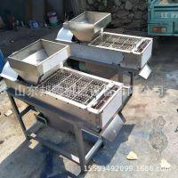 厂家出售花生米去红衣机 花生米脱皮机 小型花生米烘烤砂棍脱皮机