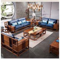 新中式红木家具承传二代沙发款式图片 刺猬紫檀