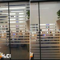 隐形电子百叶玻璃 调光玻璃隔断 智能控制