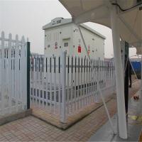 pvc塑钢护栏厂家l变压器防护栅栏lpvc电力围栏