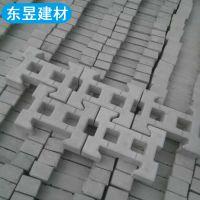 植草砖铰链式护坡砖联锁块连锁式砖护坡砖河道生态护坡块水泥砖