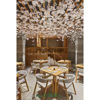 定制现代中式重庆老火锅桌椅子全套仿古实木柜式火锅桌椅组合批发 古典中式