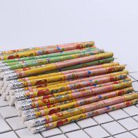 日韩儿童卡通铅笔100支儿童小学生写字木头无毒石墨HB铅笔