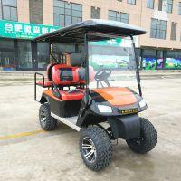 厂家直销4座黑红座椅四轮电动观光旅游车巡逻车越野打猎车