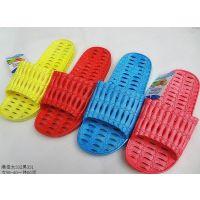 女士夏季凉拖鞋 浴室镂空塑料拖鞋 防滑清仓节节高一字拖鞋
