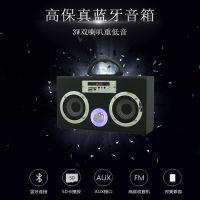 热销Mini可爱musiccrown无线蓝牙音箱 便携式SD USB FM手提音箱CE FCC