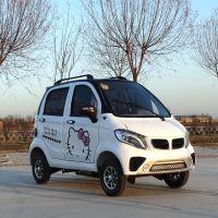 新能源电动车 残疾人电动代步车 把式四轮电动车 全封闭 低速汽车