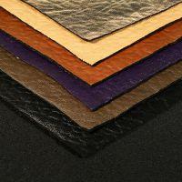 【厂家直供】针织麂皮绒 烫金 仿皮 时装面料 科技皮布