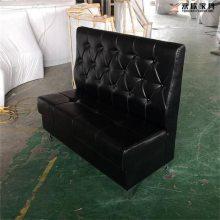 卡座沙发加工厂,时尚餐厅沙发来图定做