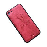 适用于车线麋鹿苹果6手机壳苹果7/8保护套7Plus8布纹X软壳男女潮