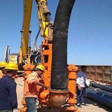 烟台挖掘机液压铰刀清淤泵 液压抽沙泵 市场价 采沙泵厂家价格