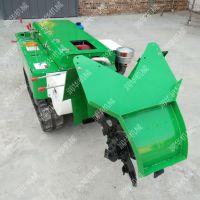 开沟自动回填机 润华 自走式果园施肥机 柑橘园开沟施肥机
