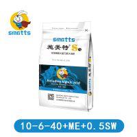 生物刺激剂功能性海藻酸肥料10-6-40高钾冲施滴灌叶面喷施肥料