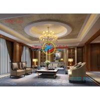 客厅设计 客厅效果图 豪华装修设计 模拟效果图  家庭装修设计