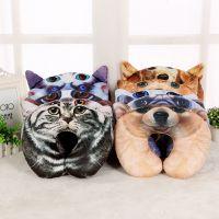 创意狗年u型枕 公司活动节日促销送客户枕头喵星人居家生活护颈枕