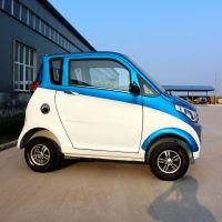 厂家招商代理两座四轮铁壳电动轿车新能源代步车成人单缸燃油车