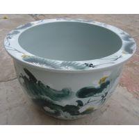 陶瓷大缸 厂家定制 纯手工景德镇 色釉陶瓷风水大缸