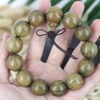 长期供应美洲绿檀佛珠手串 规格齐全20~06mm檀木手链念珠 带清香
