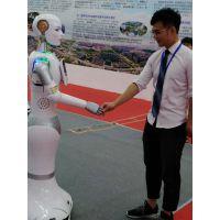人形机器人小澳适合机场酒店前台接待主持