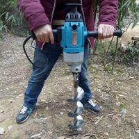 植树挖坑机打孔机如何使用