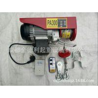 PA200-PA999微型电动葫芦遥控220V小型家用起重电葫芦小型吊机