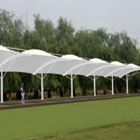 新疆膜结构-新疆大疆丰景公司-膜结构停车场