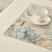 欧式美式加厚涤棉布艺西餐垫碗垫隔热垫餐布垫桌布桌垫杯垫子定制
