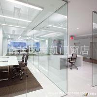 无锡长期供应玻璃地弹门玻璃制作钢化玻璃地弹门 无框玻璃地弹门