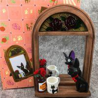 宫崎骏吉卜力 魔女宅急便黑猫吉吉 台式/壁挂 复古树脂化妆梳妆镜