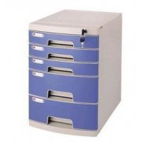 包邮 五层文件柜 文件整理柜 桌面文件柜 带锁文件柜 储存柜
