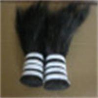 供应单齐黑色20-30cm马鬃毛