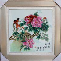 创意瓷板画 涂鸦瓷板画 彩绘陶瓷壁画