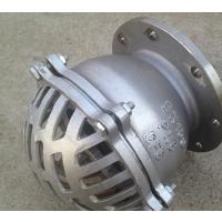 底阀厂家直销水泵底阀一套多少钱 H41X-10/16 DN80 铸铁法兰底阀 厂家 NGA
