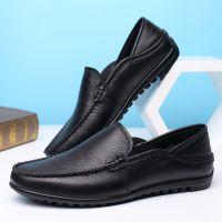 男士豆豆鞋ck-25真皮休闲鞋套脚皮鞋软面软皮单鞋一件代发驾车鞋