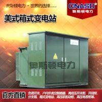 10KV YB高压预装式箱变美式国网绿变景观式欧变成套箱式变电站
