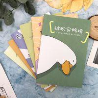 创意少女鸭鸭笔记本日记本韩国小清新复古批发记事本作业本口袋本