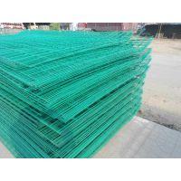 沧州1.8*3米双边丝护栏网-4mm绿色护栏网-河渠防护网批发