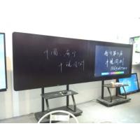 深圳CTVHD纳米智能黑板65寸厂家参展中国教育装备展示会产品