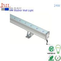 性价之选杰明朗不易雾化JML-WWL-D24W LED户外洗墙灯24W