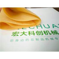 要说豆腐皮机设备哪家好?就选宏大豆腐皮机厂家 购机包教技术