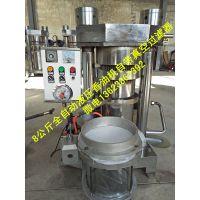 液压香油机,8公斤液压榨油机曲轴低压泵,芝麻炒料机电加热型