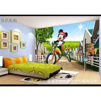 儿童房卡通动漫大型3D无缝墙纸墙布影视背景墙布壁纸壁画软包墙画