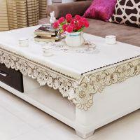 电视柜盖布欧式长方形茶几桌布布艺蕾丝桌垫客厅电视机布套防尘罩