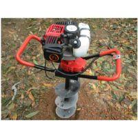 聊城汽油二冲程劲大挖坑机 苹果树种植打眼机 立杆机操作舒适