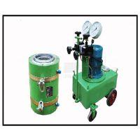 贵州预应力穿心式千斤顶产品 高压电动油泵 来电咨询