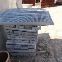 防滑钢格板 平台高空作业格栅 工厂排水板