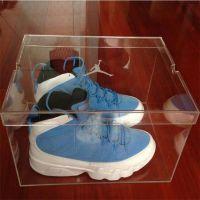 深圳厂家制作鞋盒 销售亚克力高档鞋盒 透明品牌鞋子终端包装盒